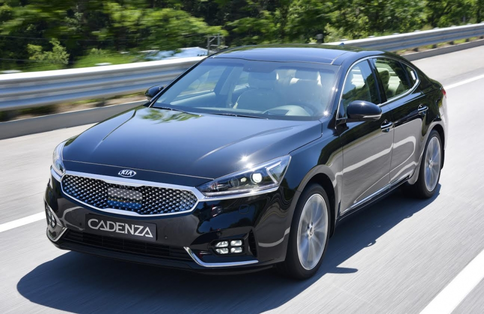 The All New Kia Cadenza Named Best Family Saloon And Best Large Sedan Car Of The Year